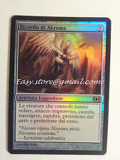 RICORDO DI AKROMA - AKROMA'S MEMORIAL FOIL ITA  - MTG MAGIC
