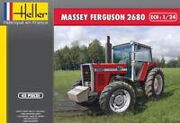 Heller 81402 Massey Ferguson 2680 Farm Tractor plastic model kit 1/24