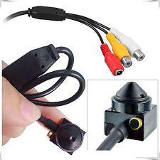Mini Espía Cámara CCTV 1000TVL Interior Oculto Seguridad HD Audio Video Vigilancia