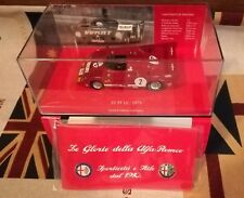 Minichamps 403 751202 ALFA ROMEO 33 TT 12-1975 2# Winner 1000 KM Monza 1 43