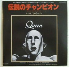 "QUEEN : WE ARE THE CHAMPIONS (CD from JAPAN 7"" 1977)  ♦ EMI SINGLE ♦"