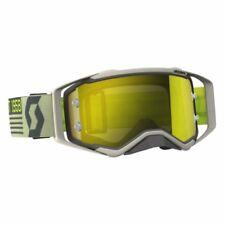 Occhiali da moto con lenti in giallo con montatura in grigio