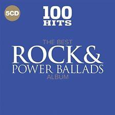 Various Artists - 100 Hits: Best Rock & Power Ballads Album / Various