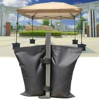 1PC Black Gazebo Sand Bags Weights For Tent Gazebo Marquee Awning I2B1