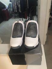 90c2e5c8056 Air Jordan XIX 19 White/Chrome/Flint Grey Size 12 USED 2004