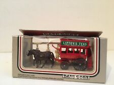 Lledo Days Gone - Horse Drawn Cart with UNPAINTED Figures - Lipton's Teas