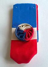 FRANCE: Ruban à rosette pour la médaille du travail, 30 années de service.