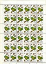 RUSSIA 1985 SC#5379-83 MEDICINAL PLANTS 5 FULL SHEETS  MNH