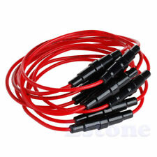 10pcs AGC 5x20 5 x 20mm Fuse Holder Case In-Line Screw with 22AWG Wire Cable