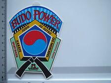 Pegatina Sticker danrho-Budo Power-rhode-Dreieich (5643)