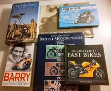 More details for 6 motorbike motorcycle history books tt races sheene geoff duke