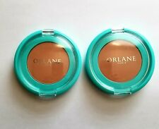 Orlane Paris Shine Control Pressed Powder lot of 2  compact teint ControleMedium