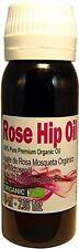PURE ORGANIC  Rose Hip Oil - Aceite de Rosa Mosqueta 2.03oz / 60ml Patagonian
