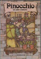 PINOCCHIO di C. Collodi  Libro Animato Pop-Up 1° ed. Mondadori 1975