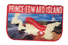 CHARLOTTETOWN PRINCE EDWARD ISLAND  Iron On Printed Patch Capital City Canada