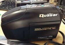 Genuine Quasar Palmcorder VHS-C PalmSight With 150x Digital 18x **READ**