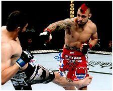 DAN HARDY Signed Autographed UFC MMA 8X10 PIC. B