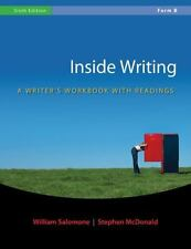 Inside Writing: A Writer's Workbook with Readings, Form B (Spiral-bound) GOOD