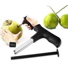 Coco Water Punch Kitchen Coconut Opener Tool Tap Drill Fruit Open Hole Cut Knife