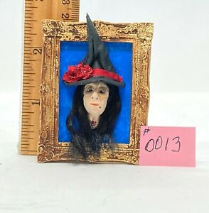 Dollhouse miniature 1/12th scale Halloween 3-D wall hanging #0013