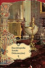 Encyclopedia Antique Decor Art Furniture Painting Tableware Vases Porcelain Book