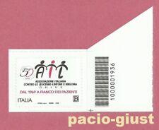 ITALIA 2019  AIL – Associazione Italiana Leucemie  CODICE A BARRE 1936