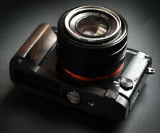 Handmade Natural Blackwood Wooden Hand Grip Holder L Plate for SONY RX1R2 Camera