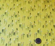 MEADOW FLOWERS ON YELLOW FABRIC FQ'S -BEATRIX POTTER'S PETER RABBIT COLLECTION