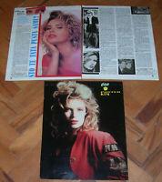 Kim Wilde clippings from Yugoslavian magazines, beginning of 90-ies VERY RARE