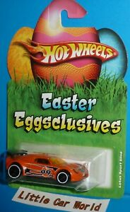 2009 HOT WHEELS Easter Eggsclusives Lotus Sport Elise Orange NIP