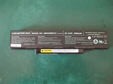 Battery for laptop M660NBAT-6 10.8V 4000mAh used