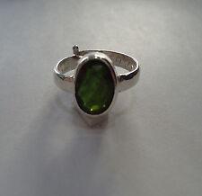 Lab Certified Natural 11.25 Ratti Green Tourmaline Ring In Panchdhatu Metal