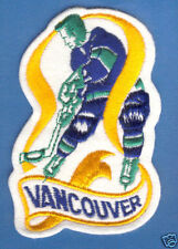 "1970'S VANCOUVER CANUCKS NHL HOCKEY VINTAGE 4.5"" PATCH"