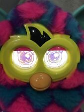 Furby Boom Blue Green Pink Heart Design Hasbro 2012 Fully Working Electronic Pet