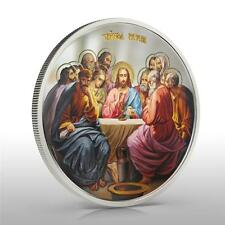 Niue 2012 $2 Icon The Last Supper 1 Oz Silver Coin VERY RARE and LIMITED