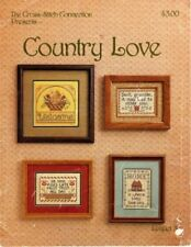 """Cross Stitch Connection Presents """"COUNTRY LOVE"""" D11"""