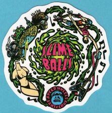 Santa Cruz Slime Ball Vinyl Sticker for Skateboard, Laptop, Guitar