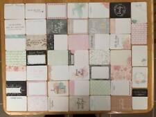 Partial 'Modern Wedding' Journaling Card Kit