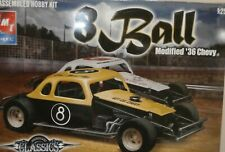 Amt 36 Chevy Modified Racer 1/25 8 Ball New
