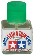 Tamiya Extra Thin Cement 40 ml plastic model cement glue new 87038