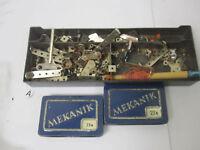 RARE 1950/60 GERMANY MEKANIK MECCANO Parts Items Vintage 23a 22a