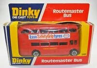 RARE VINTAGE DINKY 289.ROUTEMASTER LONDON D/DECKER BUS Diecast Toy MINT BOXED