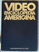 VIDEO ENCICLOPEDIA AMERICANA - CLUB INTERNACIONAL DEL LIBRO 1990 - VER INDICE