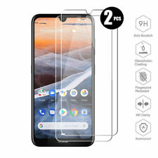 2Pcs Tempered Glass Screen Protector For Nokia 5.3 8.3 8.1 7.2 6.2 4.2 3.2 X6 C2