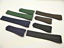cinturini subamariner oyster rubber x rolex 20mm batman hulk watch strap correa