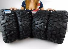"New Suzuki King Quad 750 MASSFX KT 26"" ATV Tires 26x9-12 26x11-12 Set 2006-2014"