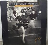 TINA TURNER LIVE IN AMSTERDAM WILDEST DREAMS EUROPEAN TOUR 1996 IMAGE LASERDISC