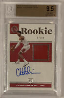 ROOKIE! Chandler Hutchison 2018-19 Encased Jersey Patch AUTO #97/99 BGS 9.5/10