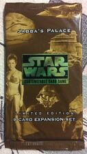 Star Wars CCG Jabba's Palace Sealed Booster Pack