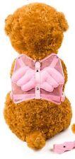Pink Wings Adjustable Dog Harness & FREE Lead Shihtzu Terrier Bichón Poodle Pug